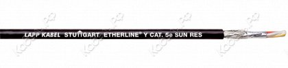 Кабель ETHERLINE® Y CAT. 5e BK фото
